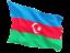 azerbaijan_fluttering_flag_64