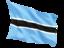 botswana_fluttering_flag_64