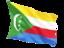 comoros_fluttering_flag_64