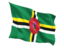 dominica_fluttering_flag_64