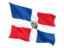 dominican_republic_fluttering_flag_64