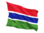 gambia_fluttering_flag_64