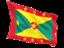 grenada_fluttering_flag_64
