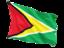 guyana_fluttering_flag_64