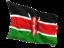 kenya_fluttering_flag_64