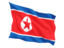korea_north_fluttering_flag_64