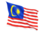 malaysia_fluttering_flag_64