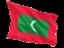 maldives_fluttering_flag_64