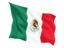 mexico_fluttering_flag_64