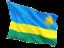 rwanda_fluttering_flag_64