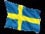 sweden_fluttering_flag_64