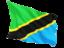 tanzania_fluttering_flag_64