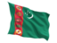 turkmenistan_fluttering_flag_64