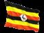uganda_fluttering_flag_64
