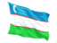 uzbekistan_fluttering_flag_64