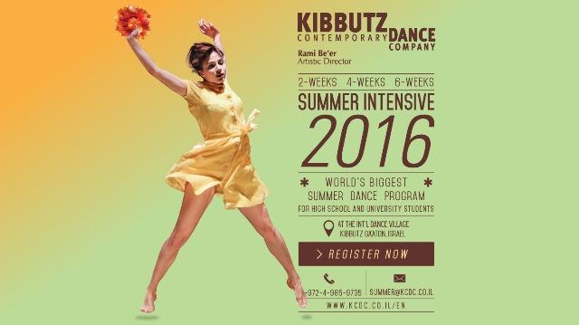 Summer Intensive in Kibbutz Contemporary Dance Company