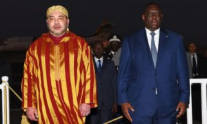King Mohammed VI and President Macky Sall
